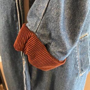 Vintage Jackets & Coats - Vintage Denim Duster Trench Coat